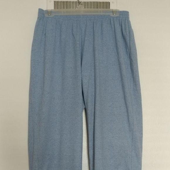 fb110c8c5d8d22 Cathy Daniels Pants - Cathy Daniels Womens Large Blue Capris Crop Pants